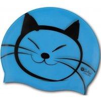 Шапочка для плавания INDIGO Котик